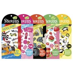 Pochettes de stickers originaux à thèmes