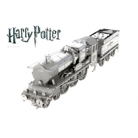 Poudlard express, maquette 3D Harry Potter en métal