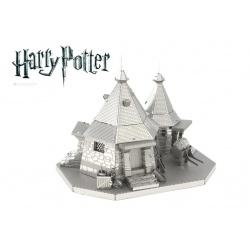 Hutte de Hagrid, maquette 3D Harry Potter en métal