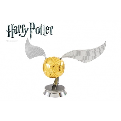 Vif d'or, maquette 3D Harry Potter en métal