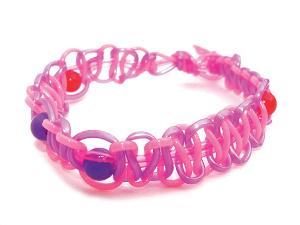 Bracelet Scoubidou
