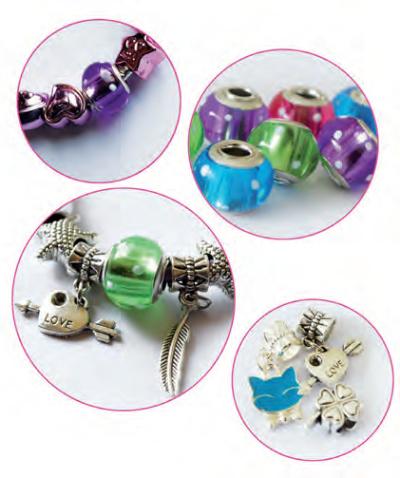 Coffret charms pour créer de magnifiques bracelets