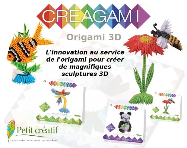L'origami 3D, Creagami créé l'innovation pour vous !