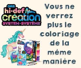 Hi-def Creation, une nouvelle façon de colorier !